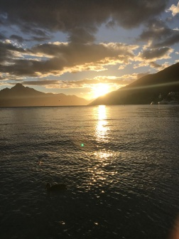 Sunset, Lake Wakatipu Queenstown