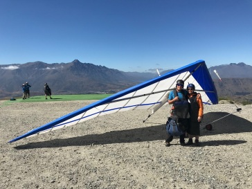 My wings - Coronet Peak Tandem Hang Gliding