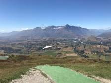 Flight from Coronet Peak